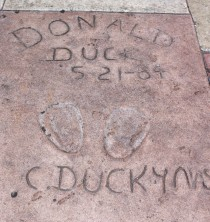 Chinese Theatre Concrete Hand Prints Hollywood (2)