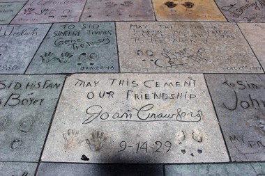 Chinese Theatre Concrete Hand Prints Hollywood (26)