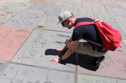 Chinese Theatre Concrete Hand Prints Hollywood (32)
