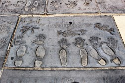 Chinese Theatre Concrete Hand Prints Hollywood (50)