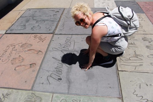 Chinese Theatre Concrete Hand Prints Hollywood (53)