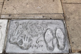 Chinese Theatre Concrete Hand Prints Hollywood (56)